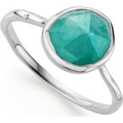 Sterling Silver Siren Stacking Ring Amazonite found on Bargain Bro UK from Monica Vinader