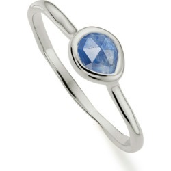 Sterling Silver Siren Small Stacking Ring Kyanite found on Bargain Bro India from Monica Vinader (US) for $85.00