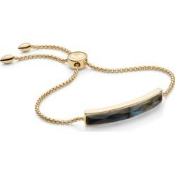 Gold Baja Facet Bracelet Labradorite found on Bargain Bro UK from Monica Vinader