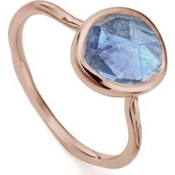 Rose Gold Siren Stacking Ring Kyanite found on Bargain Bro India from Monica Vinader (US) for $115.00