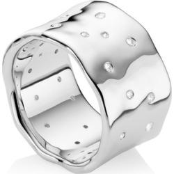 Sterling Silver Siren Scatter Ring White Topaz found on Bargain Bro UK from Monica Vinader