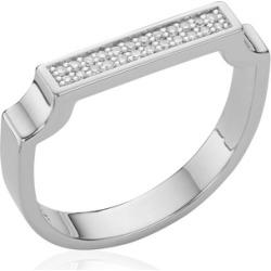 Sterling Silver Signature Diamond Ring Diamond found on Bargain Bro UK from Monica Vinader