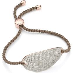 Rose Gold Nura Friendship Diamond Bracelet Diamond found on Bargain Bro UK from Monica Vinader