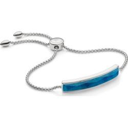 Sterling Silver Baja Facet Bracelet Blue Quartz found on Bargain Bro India from Monica Vinader (US) for $210.00