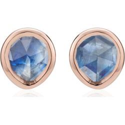 Rose Gold Siren Mini Stud Earrings Kyanite found on Bargain Bro India from Monica Vinader (US) for $135.00