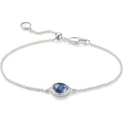 Sterling Silver Siren Fine Chain Bracelet Kyanite found on Bargain Bro India from Monica Vinader (US) for $150.00