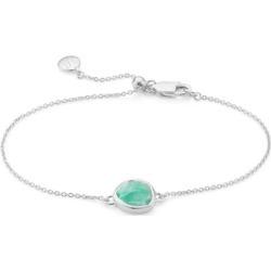 Sterling Silver Siren Fine Chain Bracelet Amazonite found on Bargain Bro India from Monica Vinader (US) for $150.00