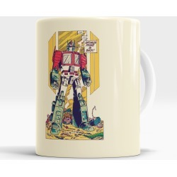 Caneca Optimus Prime Is Back