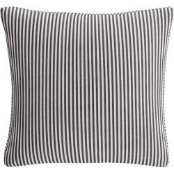Throw Pillow | Black Ticking Stripe