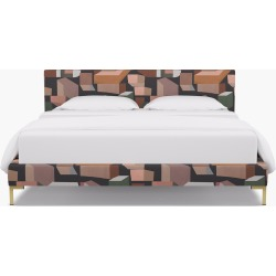 Modern Platform Bed | California King | Ink Melio found on Bargain Bro India from The Inside for $1499.00