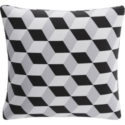 Throw Pillow | Black Cube