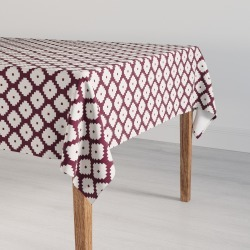 Large Tablecloth | Plum Ziggurat