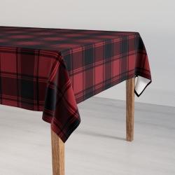 Large Tablecloth | Red Tartan