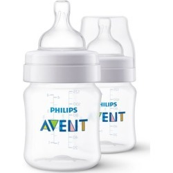 Kit Mamadeira 125Ml - 2 Unidades Linha Clássica Philips Avent - Scf560/27 - Transparente found on Bargain Bro Philippines from compracerta BR for $25.45