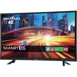 "Smart Tv Britânia Led 40"" Full Hd Btv40e21s Bivolt"