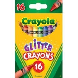 Crayola 16-ct Glitter Crayons
