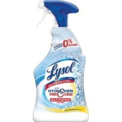 Lysol? with Hydrogen Peroxide Multi-Purpose Cleaner - Citrus Sparkle Z