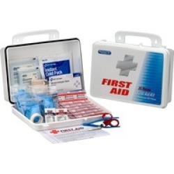 First Aid Only 25 Person Office First Aid Kit, 135 Pieces, Plastic Cas