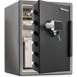 Fire-Safe Digital Alarm Water/Fire-resistant Safe found on Bargain Bro India from BulkOfficeSupply.com for $503.89