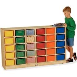 Jonti-Craft 30 Cubbie Mobile Storage
