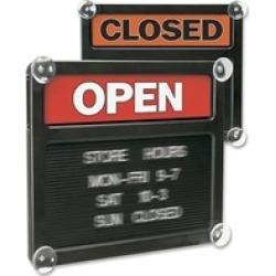 Headline U.S. Stamp & Sign Open/Closed Letter Board Sign