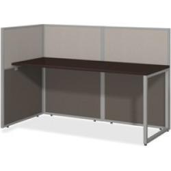 Bush Business Furniture Easy Office 60W Straight Desk Open Office in M