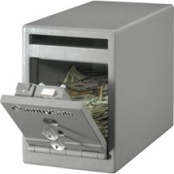 Sentry Safe Dual Key Lock Under Counter Safe found on Bargain Bro India from BulkOfficeSupply.com for $115.24