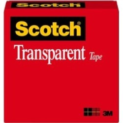 Scotch Transparent Glossy Office Tape