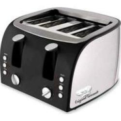 Original Gourmet Adjustable Slots 4-Slice Toaster