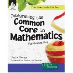 Shell Gr K-5 How-to Com/Core Math Book Education Printed Book for Math