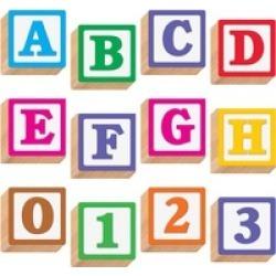 "Trend 3-D Block Style 4"" Letters"