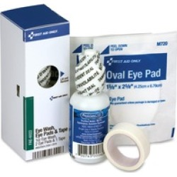 First Aid Only SC Refill Eye Wash Kit