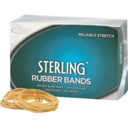 24185 Sterling Rubber Bands