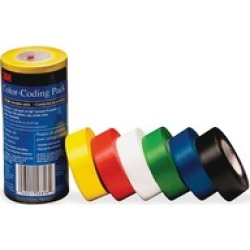 3M Vinyl Tape 764 Color-coding Pack