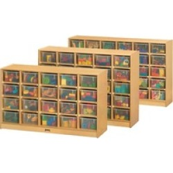 Jonti-Craft 25 Cubbie Mobile Storage