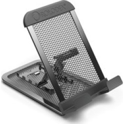Rolodex Mobile Device Mesh Stand