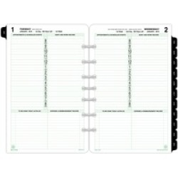 Day-Timer 1-Page-Per-Day Planner Page Refill