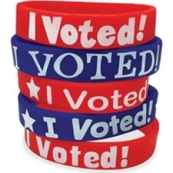 Resources I Voted Message Wristbands