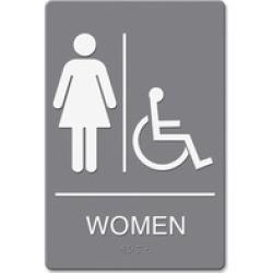 Headline U.S. Stamp & Sign Women/Whlchr Image Indoor Sign