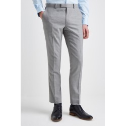 DKNY Slim Fit Light Grey Texture Trousers found on Bargain Bro UK from Moss Bros Retail