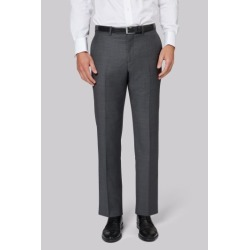 Ermenegildo Zegna Cloth Regular Fit Grey Trousers found on Bargain Bro UK from Moss Bros Retail