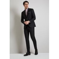 Moss 1851 Performance Tailored Fit Black Suit Jacket found on Bargain Bro UK from Moss Bros Retail