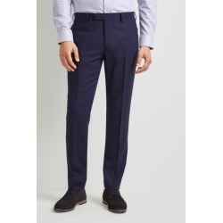 DKNY Slim Fit Blue Check Trousers found on Bargain Bro UK from Moss Bros Retail