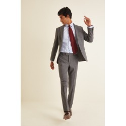 DKNY Slim Fit Grey Texture Suit Jacket found on Bargain Bro UK from Moss Bros Retail