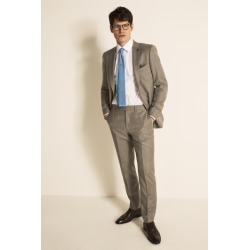 Ted Baker Gold Tailored Fit Stone Semi Plain Suit Jacket found on Bargain Bro UK from Moss Bros Retail