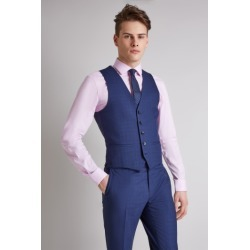DKNY Slim Fit Ink Scratch Waistcoat found on Bargain Bro UK from Moss Bros Retail