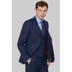 Ted Baker Gold Tailored Fit Navy Two Tone Jacket found on Bargain Bro UK from Moss Bros Retail