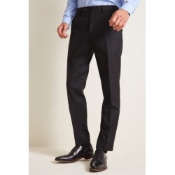 Ted Baker Tailored Fit Black Twill Trousers found on Bargain Bro UK from Moss Bros Retail