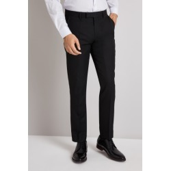 Moss London Slim/Skinny Fit Black Twill Trousers found on Bargain Bro UK from Moss Bros Retail