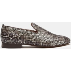 H by Hudson Bolton Snakeskin Saddle Loafer found on MODAPINS from Moss Bros Retail for USD $53.62